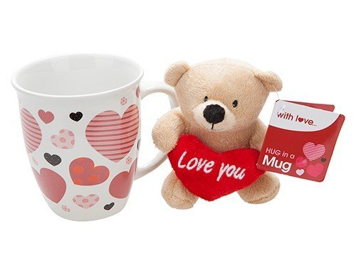 Love Plush Bear In Mug
