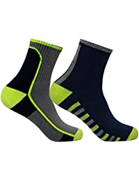Supersox Men's Sports Ankle Socks (MC-TA2-379, Multi-Colored)