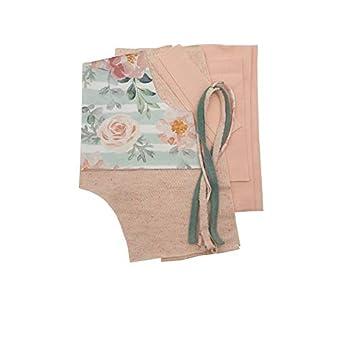 "NähPaket Pumphose""FlowerPower"" in Rosé/Mint"