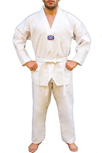 Dobok de taekwondo, Taekwondo, color blanco, tamaño 110