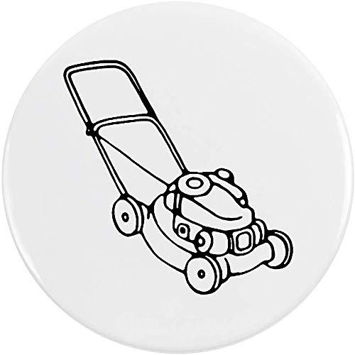Azeeda 77mm 'Rasenmäher' Pin Knopf-Abzeichen (BB00047950) (Rasenmäher-pin)