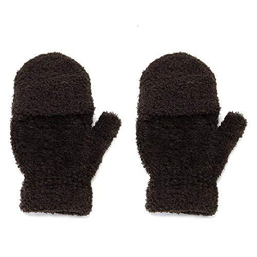LIMITA Damen Winter warme Handschuhe Mädchen Hand Wrist Warme Handschuhe Fingerlose Winterhandschuhe Fleece-Fäustling