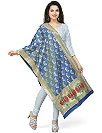 [Sponsored]Rani Saahiba Art Silk Zari Woven Dupatta/Stole