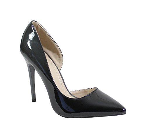 By Shoes - Escarpin Talon Aiguille Style Vernis - Femm
