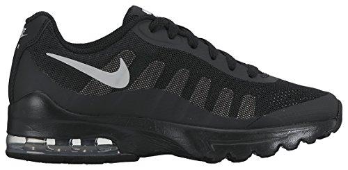 Nike Air Max Invigor Gs, Scarpe da Ginnastica Bambino Nero (Black/Wolf Grey)