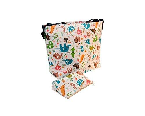 Handtasche Trolley Tiere creme My Bag \'s