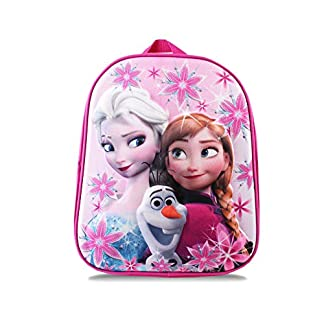 Disney Frozen Group Mochila Infantil 31 Centimeters 7 Rosa (Pink)