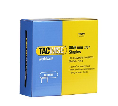Tacwise 0381 Punti Zincati, 80/6 mm