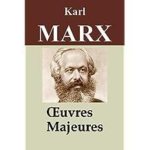 Karl Marx : Oeuvres majeures - 11 titres (Le Capital, Manifeste du parti communiste, Salaires prix profits, Travail salarié et capital, Contribution à la critique de l'économie politique, ...)