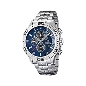 Festina Chronograph Herren-Armbanduhr Blau F16565/2