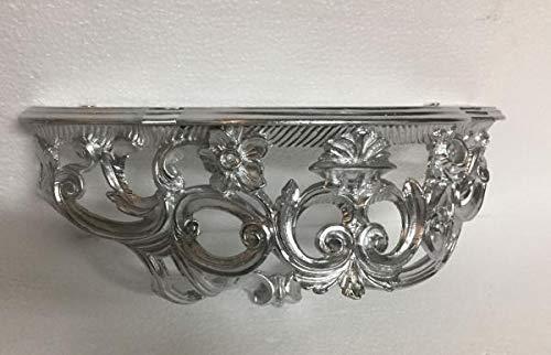 barock konsole wandkonsole silber hochglanz barock spiegelkonsole antik ornament cp72