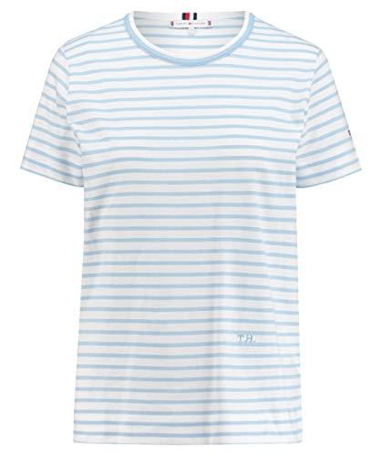 Tommy Hilfiger Damen T-Shirt bleu (50) XXXL