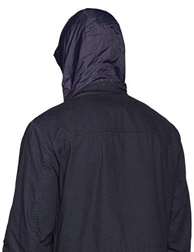 Geox Man Jacket, Manteau Homme Blau (DARK NAVY F4300)