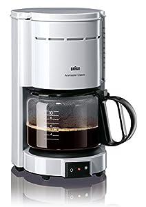 Braun KF 47/1 Filterkaffeemaschine   Kaffeemaschine für klassischen...