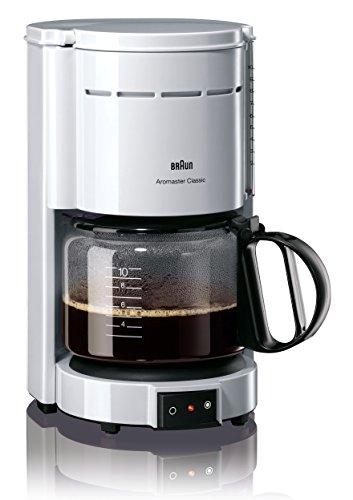 Braun KF 47/1 Filterkaffeemaschine | Kaffeemaschine für klassischen Filterkaffee | Aromatischer...