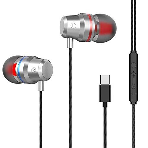 Cuffie con Microfono di Tipo C Cuffie Stereo bilaterali