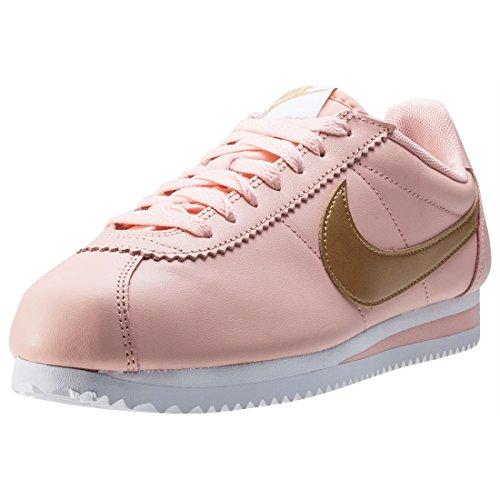 NikeClassic-Cortez-Leather-Sandalias-con-cua-mujer-color-rosa-talla-40-EU