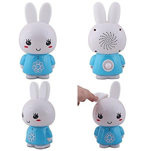 Alilo Honey Bunny Edutainment für Ihr Kind – Mediaplayer – inkl. ausgesuchter Geschichten und Lieder) Babyspielzeug Nachtlicht Einschlafhilfe Storyteller - 2
