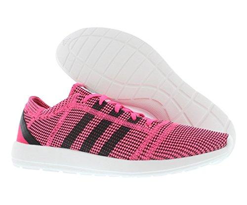 adidas Originals Women's Element Refine Neon Pink/Running White/Black Sneaker 11 B (M) pink