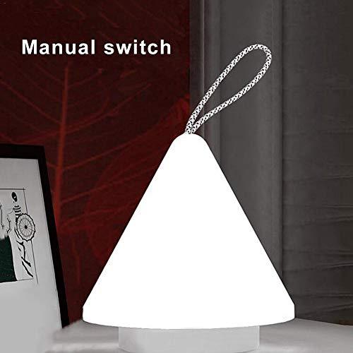 LED 10 Regulierung der Nachtruhe Steuerung der wiederaufladbaren Dormitorio Al Aire Libre Camping USB-Steckdose, weißer Schalter