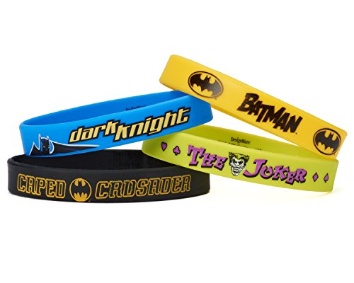 Amscan International Batman Armbänder (Halloween Para Temática)