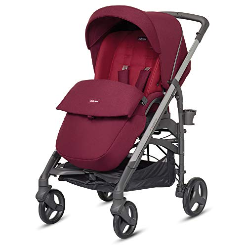 Inglesina ag37j6rbr passeggino reversibile, ruby red