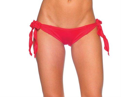 Body Zone Damen Krawatte Side Scrunch Rio - Rot - Einheitsgröße (Krawatte-scrunch)