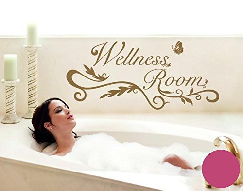 Klebefieber Wandtattoo Wellness Room