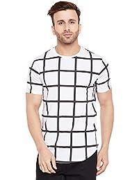 LE BOURGEOIS Men's Block Printed t-Shirt