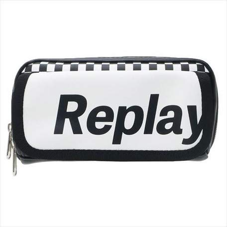 [Pen case] checker REPLAY/front flap pen case/Checker REPLAY/front flap pen case