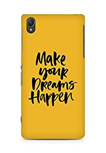AMEZ make your dreams happen Back Cover For Sony Xperia Z2