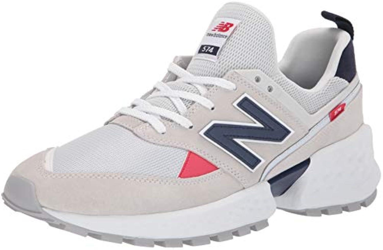New Balance Uomo - - - scarpe da ginnastica 574 Sport in Pigskin e Mesh Bianco - Numero 12 | Prezzo giusto  a793ce