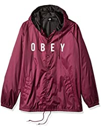 Obey Anyway Hombre Chaqueta Acolchada Negro 221180293BLK 47d99933d5f
