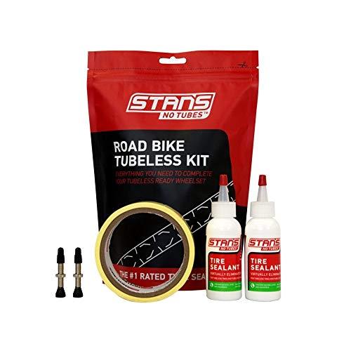 Stans Road Bike Tubeless Kit 25mm Tape Width 44mm Valve length