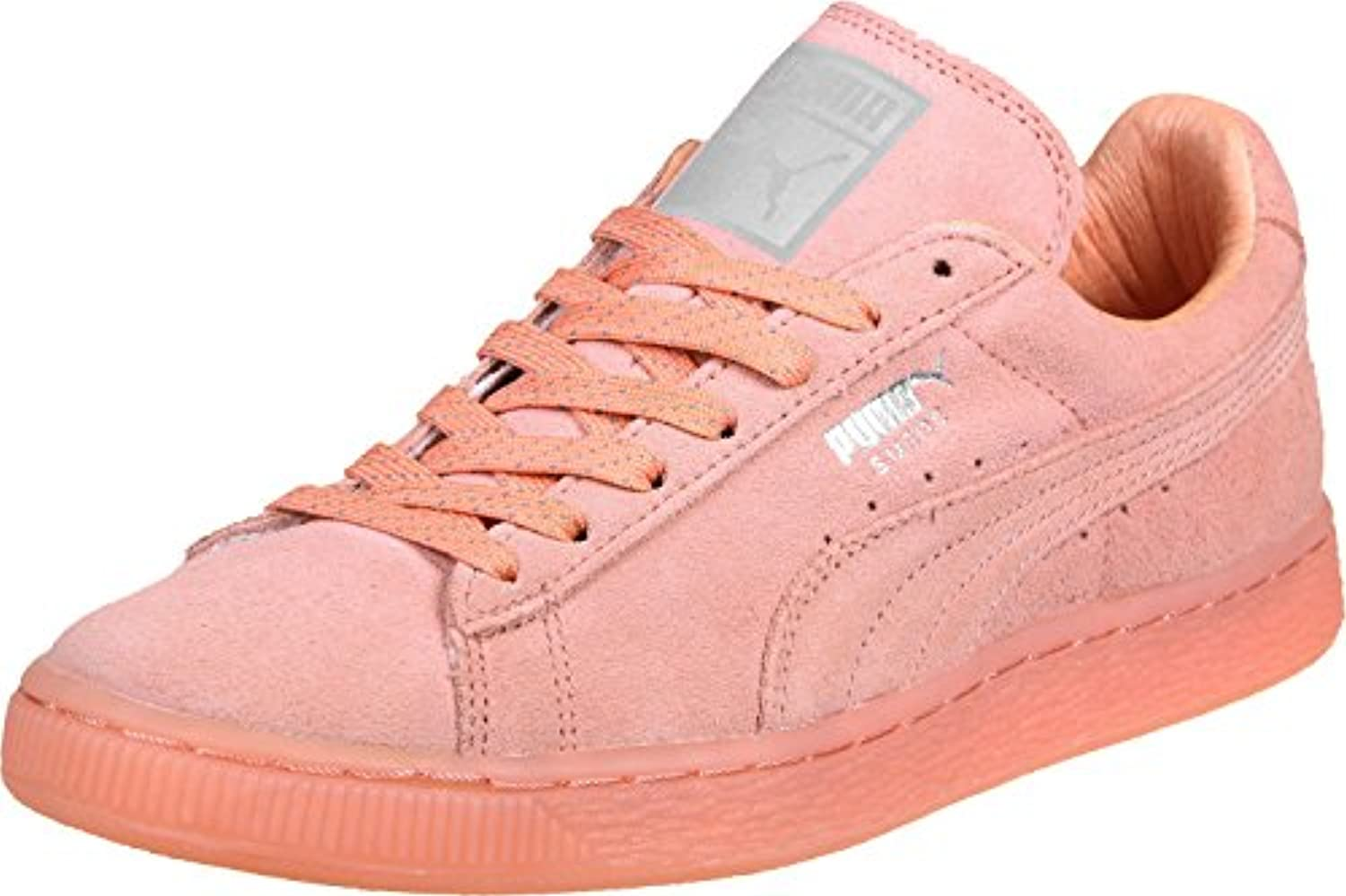 Puma Suede Classic Mono Ref ICED Leather Sneaker women Trainers 362101 08
