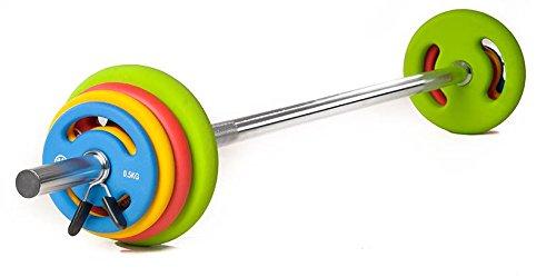 Neopren-Langhantelset mit Gewichtsscheiben im Test