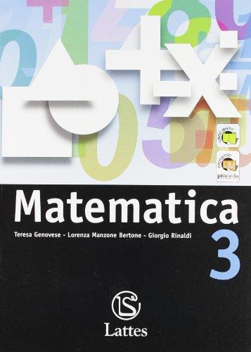 Matematica. Per la Scuola media. Con espansione online: 3