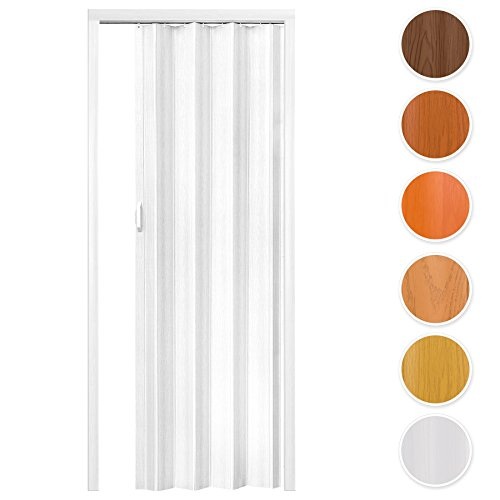 tectake-pvc-internal-plastic-folding-door-plain-white-washable-dimensions-80-x-203-cm-with-magnetic-