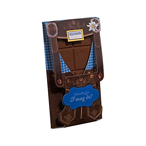 Flachtafel Lederhose Edelvollmilch Schokolade 37 g Tafel / Alpenserie