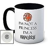 I'm Not a Princess I'm a Khaleesi - Game of Thrones - Taza de café de alta calidad
