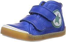 Bisgaard Velcro shoes - zapatillas deportivas altas de cuero infantil