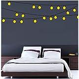 SYGA PVC Vinyl Lighting_bulb1 Wall Sticker For Home, Living Room