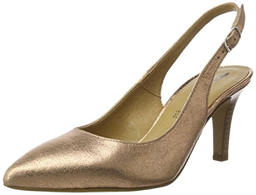 Tamaris Damen 29614 Slingback, Gold (Rose Metallic 952), 39 EU
