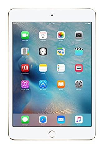 APPLE iPad mini 4 - 16GB Cell Gold A8 Chip 64‑Bi