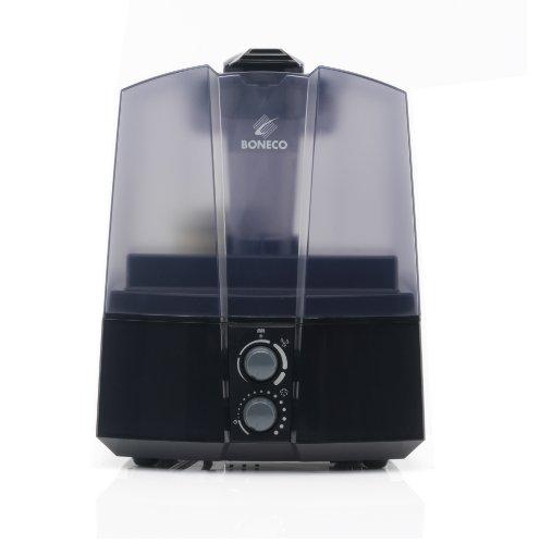 Boneco U7145Luftbefeuchter Ultraschall, 400g/h, 45W, 60m² Schwarz