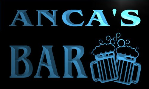 w128810-b-anca-name-home-bar-pub-beer-mugs-cheers-neon-light-sign