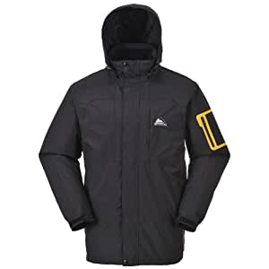 Cox Swain functional jacket Colorado Titanium Modell 15.000mm waterproof, Colour: Black, Size: S