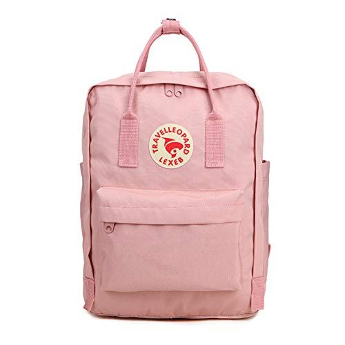 louzheni Polyester Rucksack mit Laptopfach Wasserdichte Anti-Diebstahl-Reiseschule für Frauen Mann