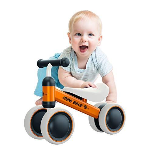 YGJT Bicicleta Bebé sin Pedales Juguetes Bebes 1 año 10 Meses a...