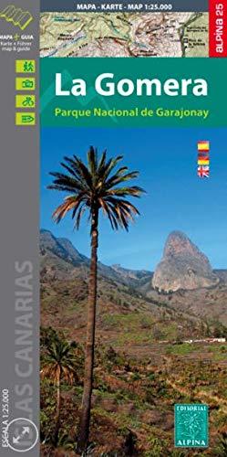 Wanderkarte La Gomera 1:25 000: Parque Nacionale de Garajonay